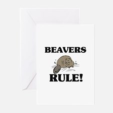 Beavers Rule! Greeting Cards (Pk of 10)