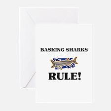 Basking Sharks Rule! Greeting Cards (Pk of 10)