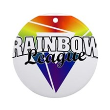 Rainbow League Ornament (Round)