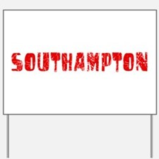 Southampton Faded (Red) Yard Sign