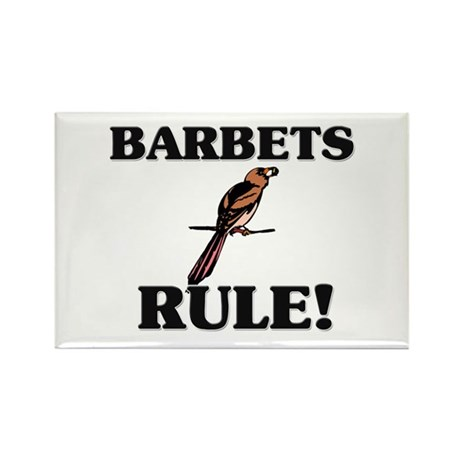 Barbets Rule! Rectangle Magnet (10 pack)