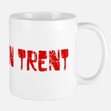 Stoke-on-Trent Faded (Red) Mug