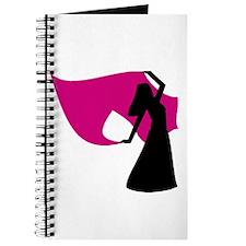 Rose Pink Veil Dancer Journal