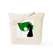 Green Veil Dancer Tote Bag