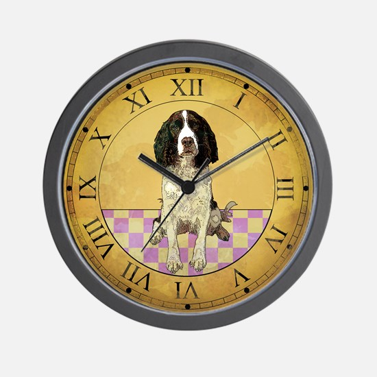 Country Dog Clock