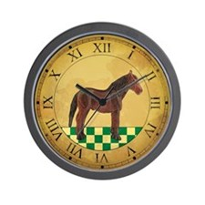 Country Horse Clock