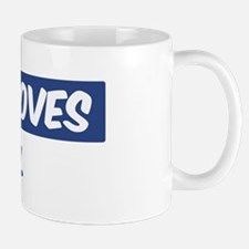 Jesus Loves Axel Mug