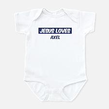 Jesus Loves Axel Infant Bodysuit