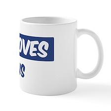 Jesus Loves Justus Mug