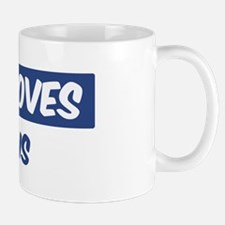 Jesus Loves Justus Small Small Mug