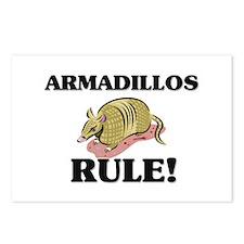 Armadillos Rule! Postcards (Package of 8)