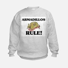 Armadillos Rule! Sweatshirt