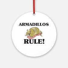 Armadillos Rule! Ornament (Round)