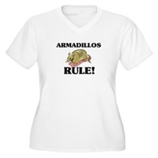 Armadillos Rule! T-Shirt