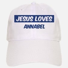 Jesus Loves Annabel Baseball Baseball Cap