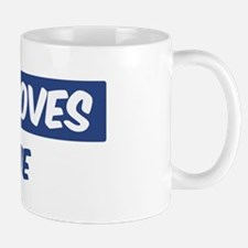 Jesus Loves Mollie Small Small Mug