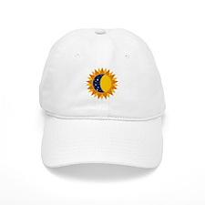 Sun Moon And Stars Baseball Baseball Cap