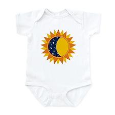 Sun Moon And Stars Infant Bodysuit