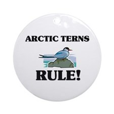 Arctic Terns Rule! Ornament (Round)