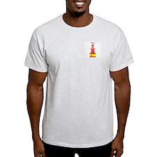 I Love Spain Ash Grey T-Shirt