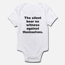 Funny Huxley quotation Infant Bodysuit