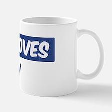 Jesus Loves Coby Small Small Mug