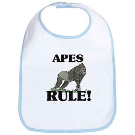 Apes Rule! Bib