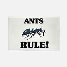 Ants Rule! Rectangle Magnet
