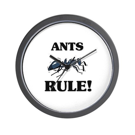 Ants Rule! Wall Clock
