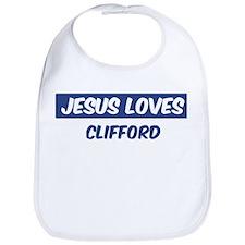 Jesus Loves Clifford Bib