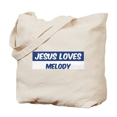 Jesus Loves Melody Tote Bag