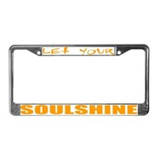 Soulshine License Plate Frame