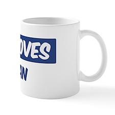 Jesus Loves Meghan Mug