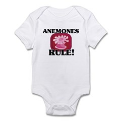Anemones Rule! Infant Bodysuit