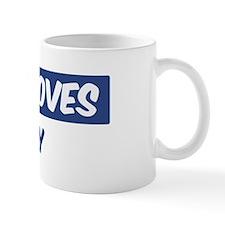 Jesus Loves Mary Mug