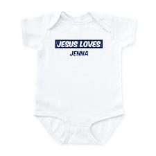 Jesus Loves Jenna Infant Bodysuit