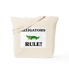 Alligators Rule! Tote Bag