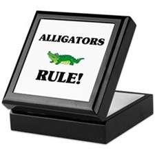 Alligators Rule! Keepsake Box