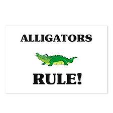 Alligators Rule! Postcards (Package of 8)