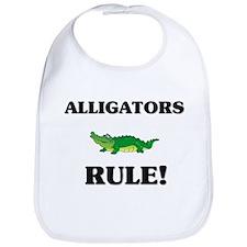 Alligators Rule! Bib