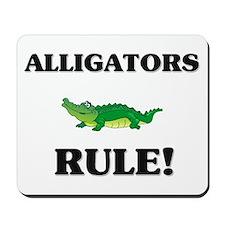 Alligators Rule! Mousepad