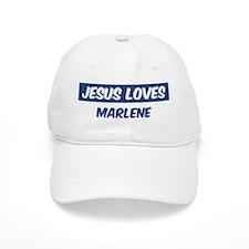 Jesus Loves Marlene Baseball Cap