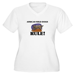 African Wild Dogs Rule! T-Shirt