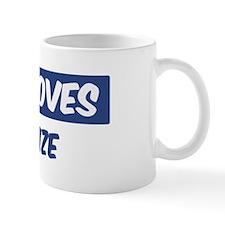 Jesus Loves Charlize Mug
