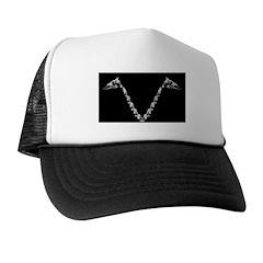 V-neck Bone Trucker Hat