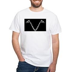 V-neck Bone Shirt