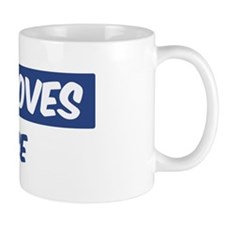 Jesus Loves Janice Mug