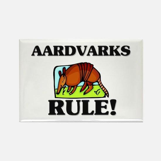 Aardvarks Rule! Rectangle Magnet