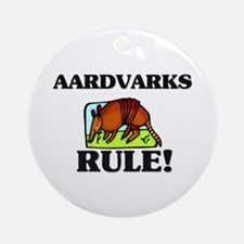 Aardvarks Rule! Ornament (Round)