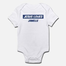 Jesus Loves Janelle Onesie